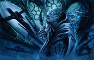 "German black metal monolith The Ruins of Beverast invite us to look inside ""Blood Vaults - The Blazing Gospel of Heinrich Kramer"" on Ván Records"