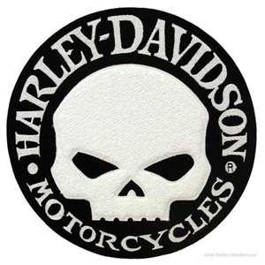 Harley Davidson. Willie G. Skull