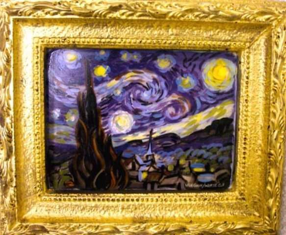 Sweet Tooth Paintings Jean Zaun Recreates Classic Works of Art Using Chocolate