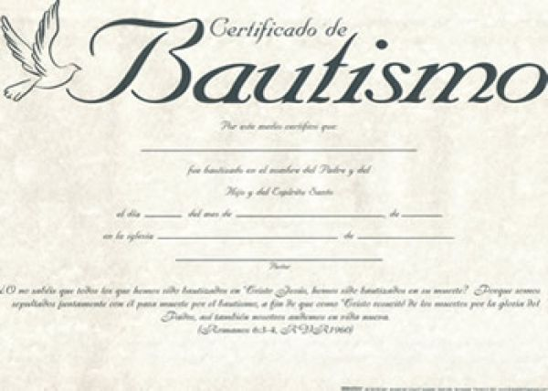 Certificado Bautismo Unidad 9780805473568 Clc España Bautismo Bautismo Cristiano Certificados