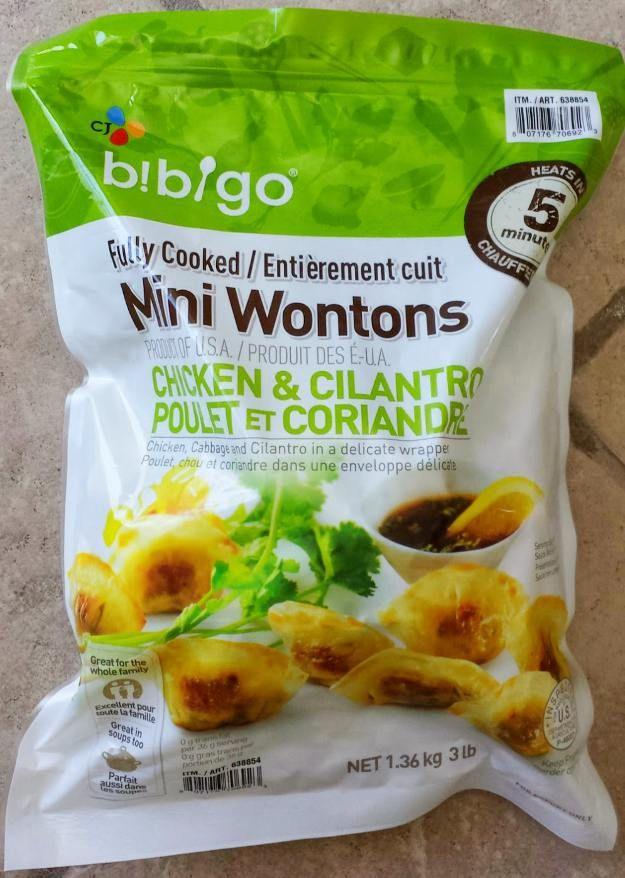 Costco S Chicken And Cilantro Mini Wontons Are A Staple Of