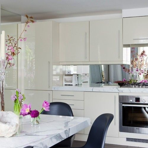 White Kitchen Mirror Splashback 27 best mirror splashback images on pinterest   mirror splashback