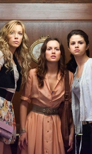 "Leighton Meester flanked by co-stars Katie Cassidy and Selena Gomez portray the characters of Meg Kelly, Emma Perkins, and Grace Bennett respectively in the movie ""Monte Carlo""......"