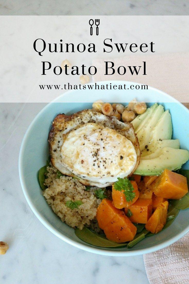 Quinoa Sweet Potato Bowl