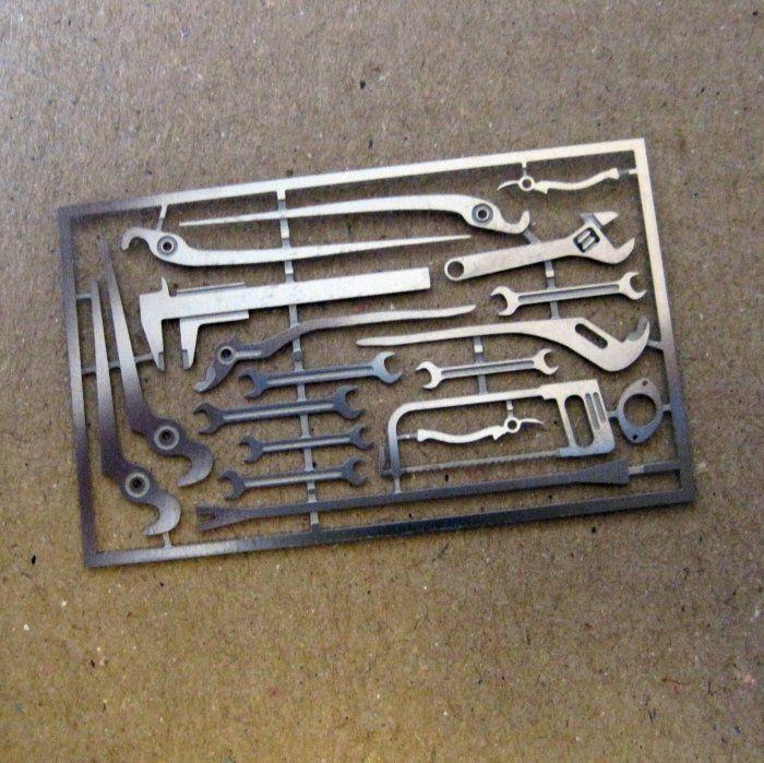 Tremonia Diorama Garage Tool Set I For Diecast 1 18 Like Hot