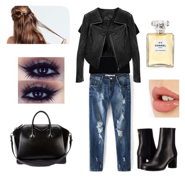 Stylish by kate-rose-ellery on Polyvore featuring polyvore, fashion, style, Essentiel, Linea Pelle, Paul Smith, Givenchy, Charlotte Tilbury, Chanel and clothing