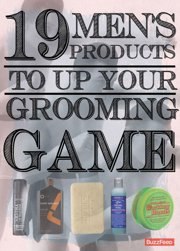 19 Men's Products To Up Your Grooming Game