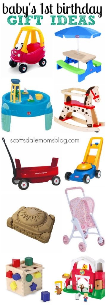 Baby's First Birthday Gift Ideas-alreafy have the barn and activity cube.