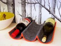 """Как сделать подставку для вина / Добавить немного """"ресторанности"""" в кухонный интерьер нам помогают аксессуары. Такие как барная стойка, подвесные держатели для стекла, а также подставки для вина."""