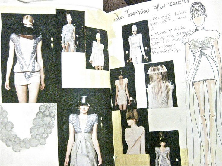 Fashion Design Explore: Research A
