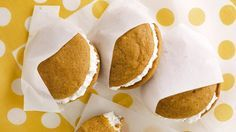 Pumpkin Whoopie Pies with Maple-Marshmallow Cream Filling Recipe