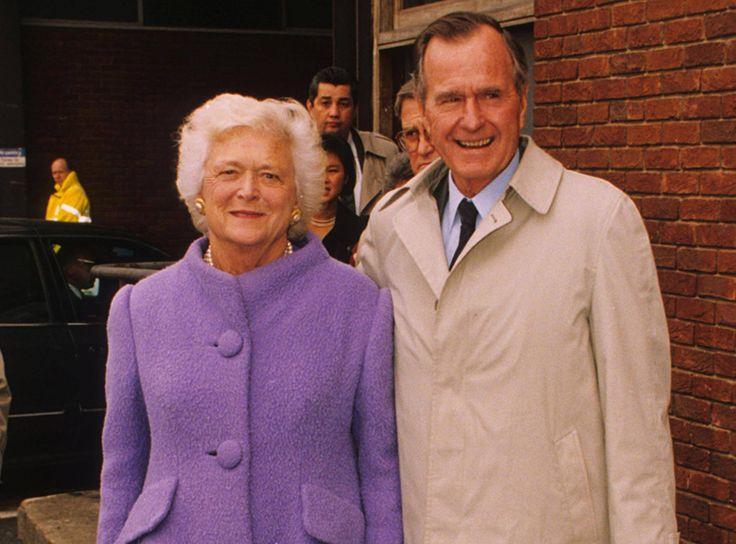 Джордж и Барбара Буш (Пирс)