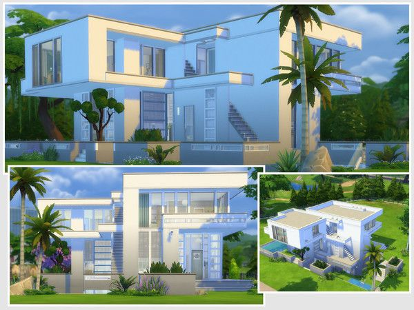 Sims 4 Cc Residential Home Lot Download Base Game And Spa Day