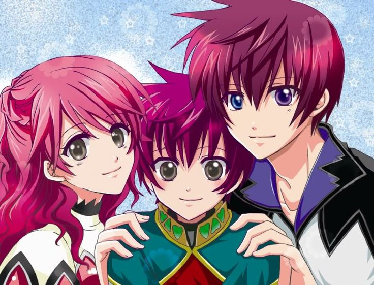 Tales of Graces: Asbel, Cheria, and their son