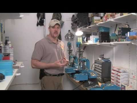 Reloading: Getting started with Dillon Presses - YouTube