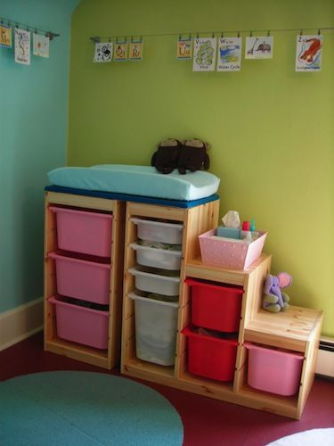 3 delightful diy baby changing table ideas including this ikea hack https