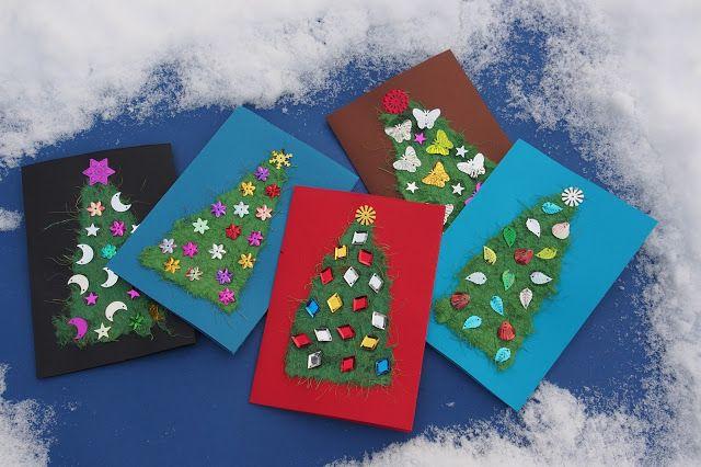 Vaateviidakko: Joulukortteja ja kierrätysmateriaaleilla paketointia