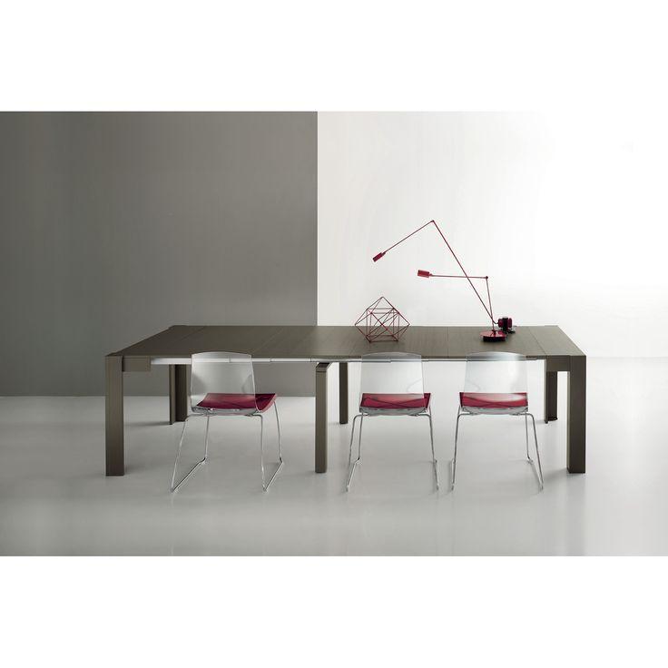 YumanMod Marsala Convertible Console Table