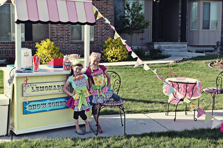 Lemonade stand auction ideas pinterest for Cool lemonade stand ideas
