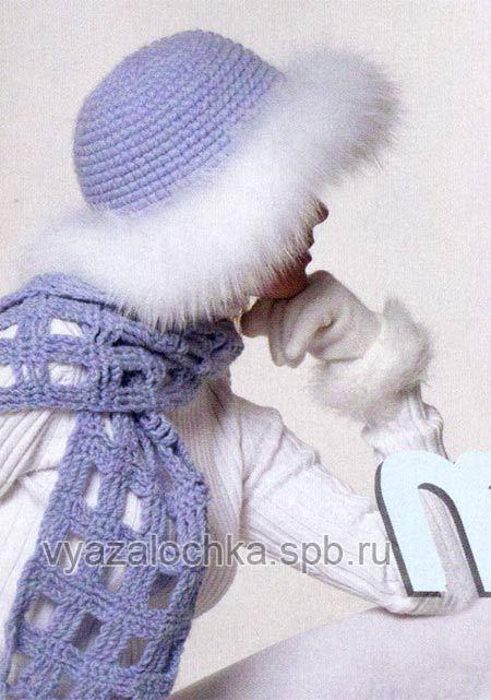 Классикой зимних головных уборов являются шапки с мехом. И эта шляпка, отороченная мехом — не исключение! В ней узнают свои мечты любительницы женственного стиля.…
