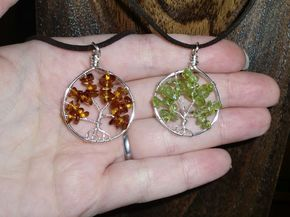 DIY Wire Wrapped Tree of Life Tutorial