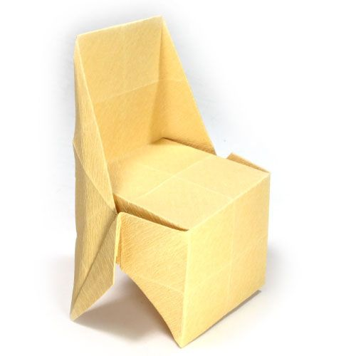 How To Make A Large Regular Origami Chair