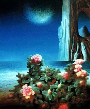 Vivant Nature - Sabin Balasa Style: Surrealism Genre: symbolic painting