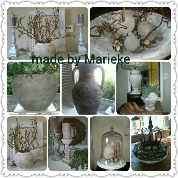Simple best images about made by marieke potten restylen for Staande lamp betonlook