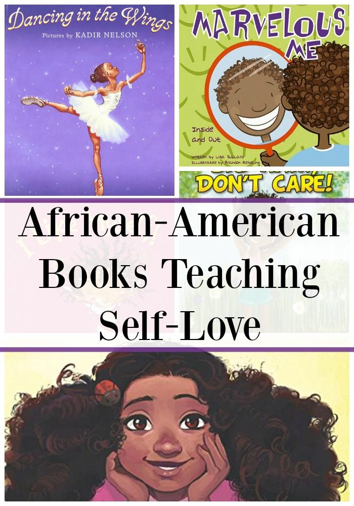 African American Books That Teaches Children to Love Themselves