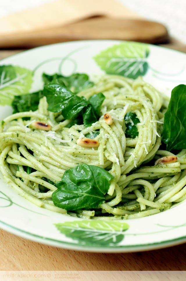 Roka Pestolu Spagetti Tarifi | Mutfak Sırları - Yemek Tarifleri