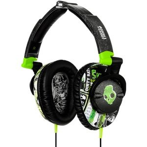 Amazon.com: Skullcandy Skullcrushers Over Ear Headphones - Lurker Green / Black: Electronics