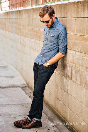 【ステキ】海外のおしゃれな男性のシンプルな「シャツ」の着こなし術 - NAVER まとめ