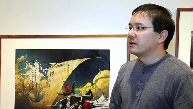 YouTube Clip: Shaun Tan discuss his book, The Lost Thing #statelibraryvictoria