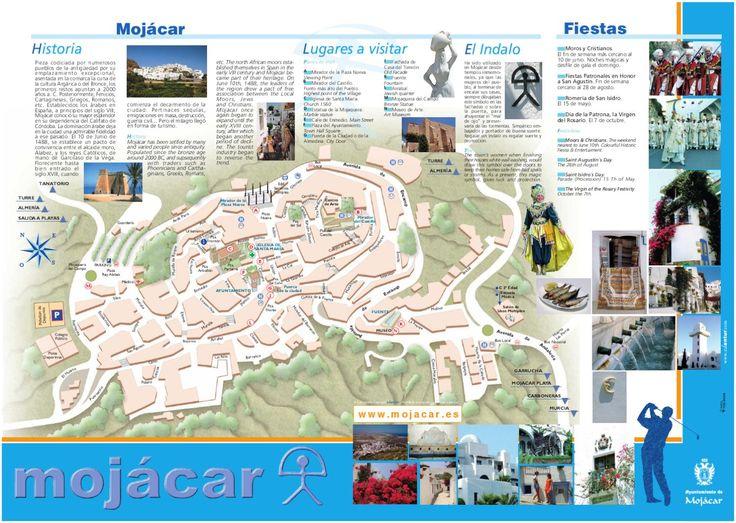 Callejero de Mojácar  Mapa Callejero de Mojácar.