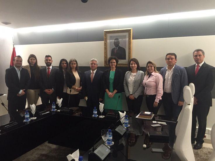 @Casablanca  participó de la misión Angola promovida por @PROCOLOMBIACO  para incentivar las exportaciones...