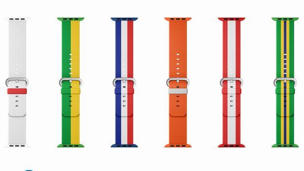 「Apple Watch」にオリンピック版バンドが登場--日本など14カ国の国旗デザイン - CNET Japan