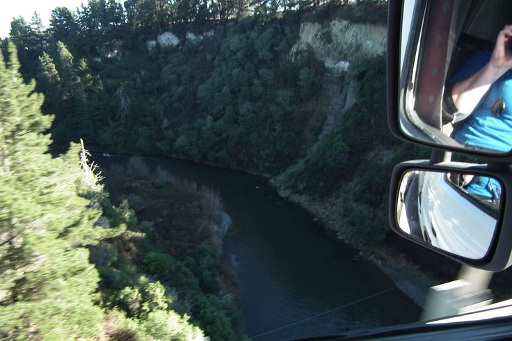 High bridges with awesome rivers.