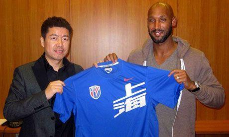 Nicolas Anelka to help struggling Jean Tigana coach Shanghai Shenhua