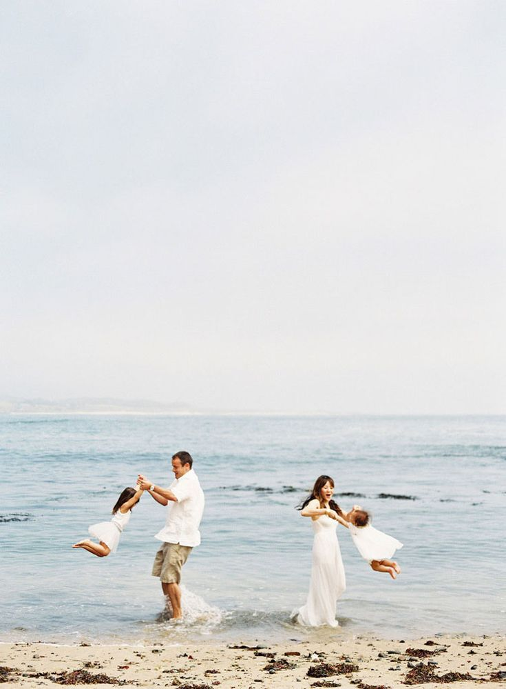 family beach portraits » Los Angeles Wedding Photography | Pregnancy & Baby Photographer