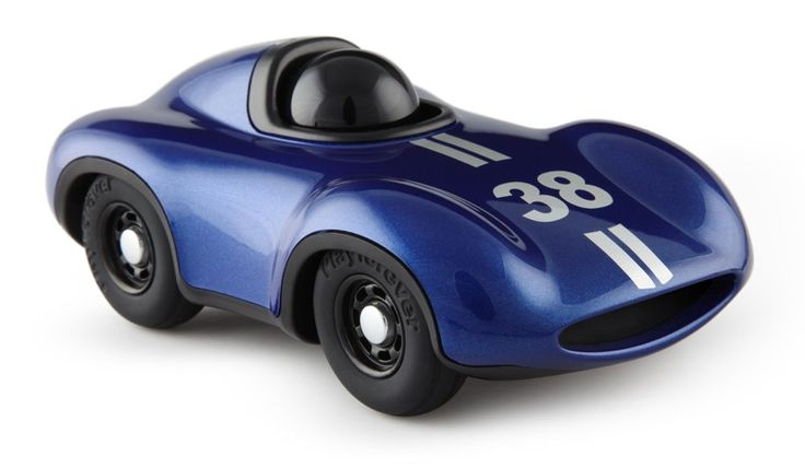 Playforever - Mini Le Mans Car Metallic Blue  Would look fantastic on the shelf, but I think this will be a fave toy to play with! #EntropyWishList  #PinToWin