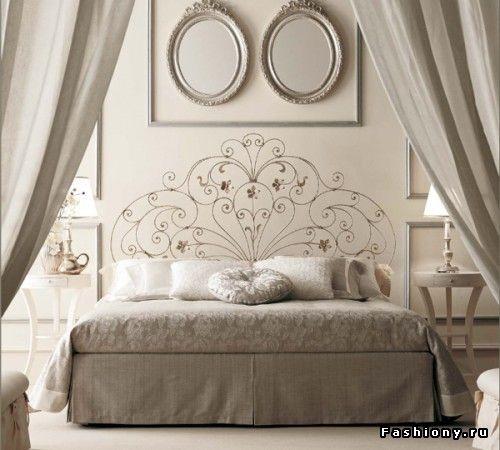 Эффектное и красивое изголовье кровати... / изголовье кровати своими руками