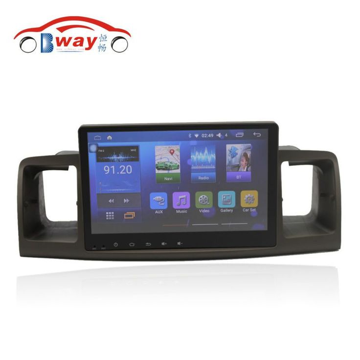 """Discount! US $242.55  Bway 9"""" car radio for TOYOTA Corolla EX Corolla E120 android 6.0.1 car dvd player with bluetooth,GPS,SWC,wifi,Mirror link,DVR"""