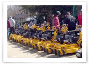 Wright Commercial Mower product line.