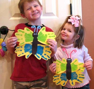Atividades para maternal, creche e berçário: Plano de aula - A borboleta levada