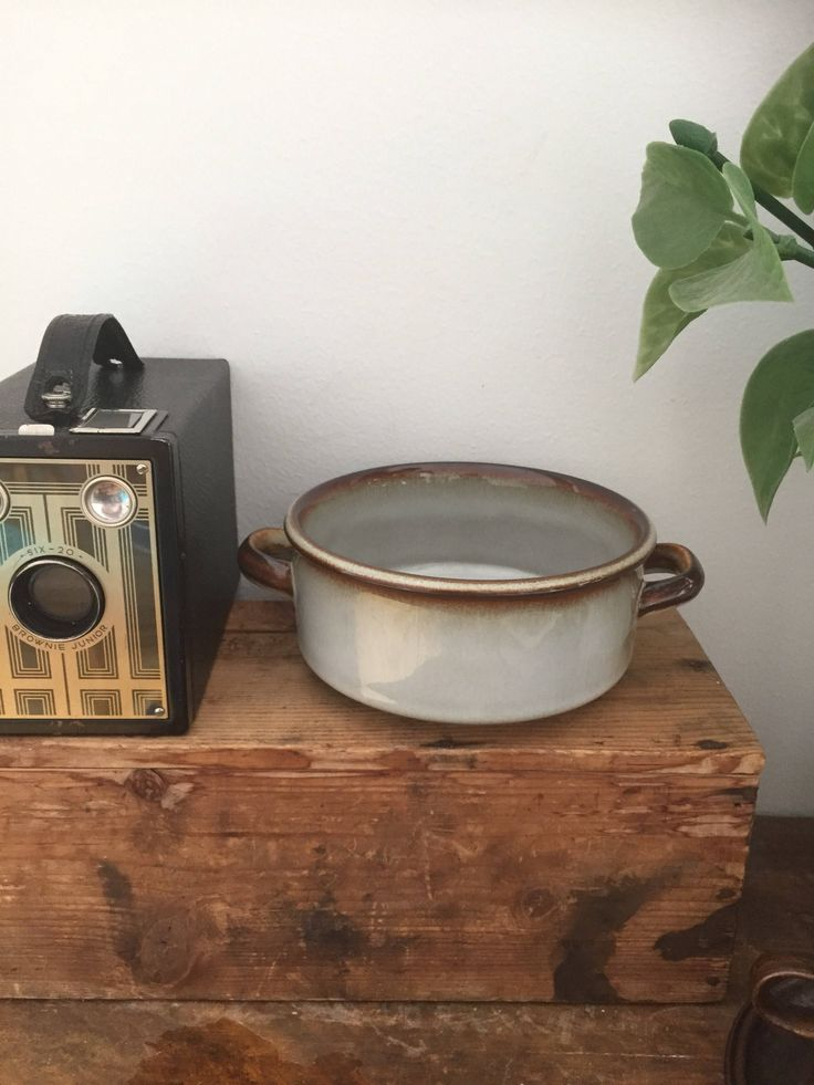 Vintage/danish/vegetable dish/double eared/Soholm/denmark/Joseph Simons/ Sonja-series/from the late 1960s by WifinpoofVintage on Etsy