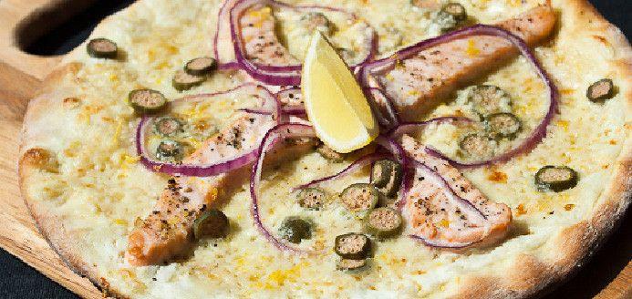 Pizza au saumon frais Stromboli Recettes | Ricardo