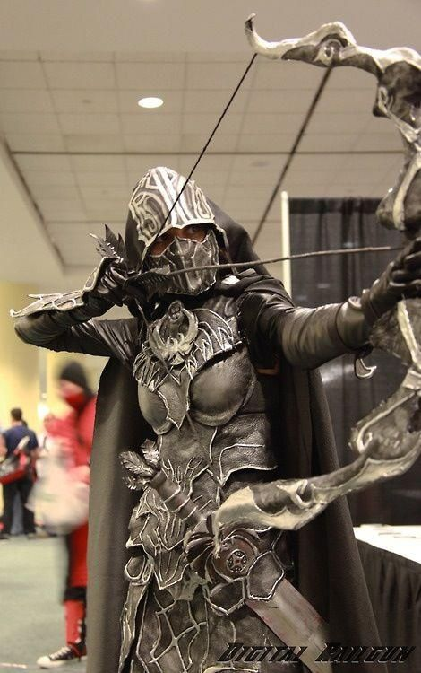 Cool Skyrim Cosplay Nightingale