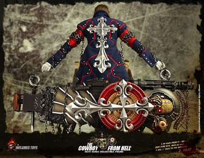 toyhaven: Incoming Inflames Toys 1/6 scale The Cowboy from Hell looks like 1/6 Gungrave 12-inch figure