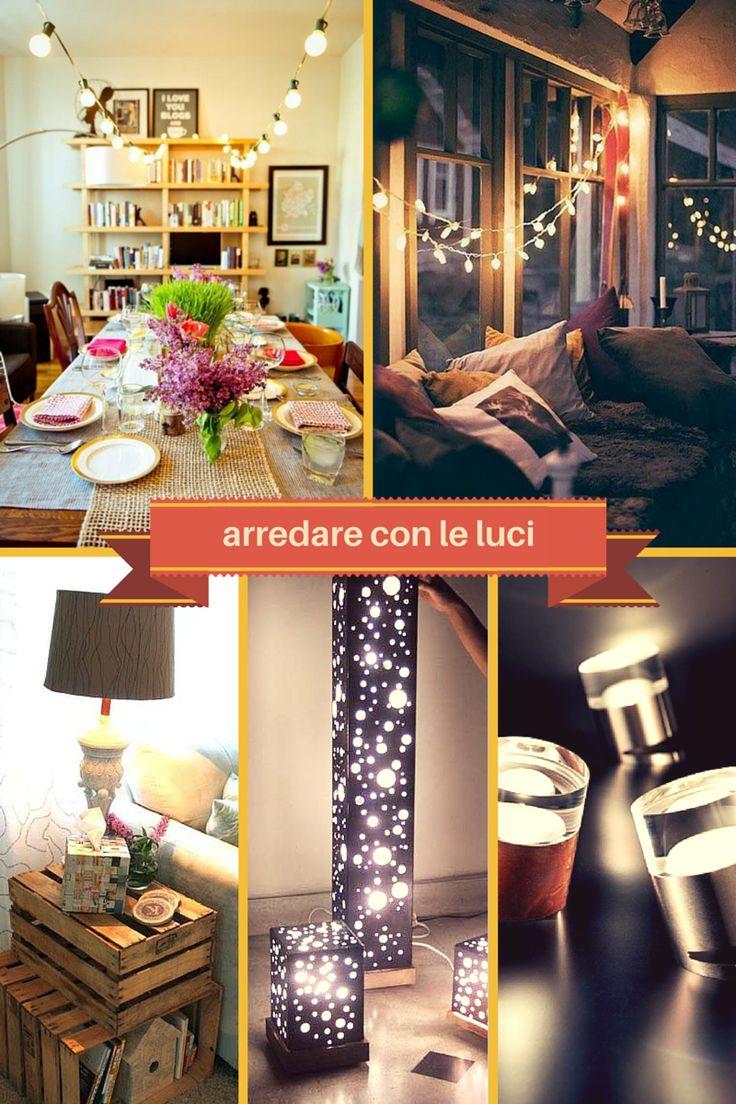 Arredare #casa con le #luci in pochissimo tempo.  #casa #natale #festa #cena #salotto #design