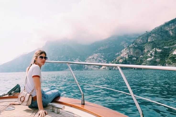 It's not Street style – it's Boat style! On the Road with Veronika Heilbrunner in Il Positano | ©Veronika Heilbrunner for hey woman!